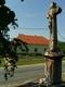Katolikus Plébánia és kőkereszt - Héreg